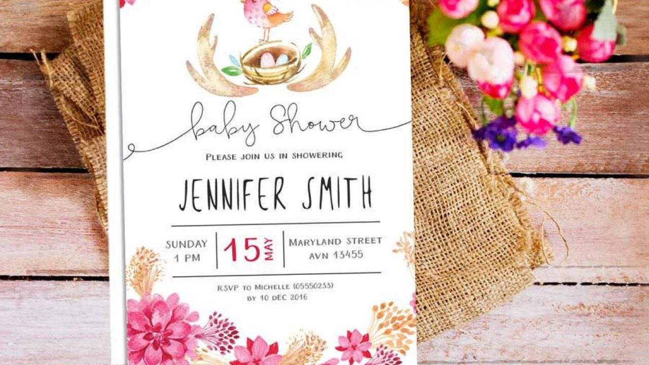 While everyone may be looking forward to the big day, there are plenty of other celebrations that shouldn't be forgotten, namely the bridal shower. 7 Free Tools To Create Your Own Baby Shower Invitation