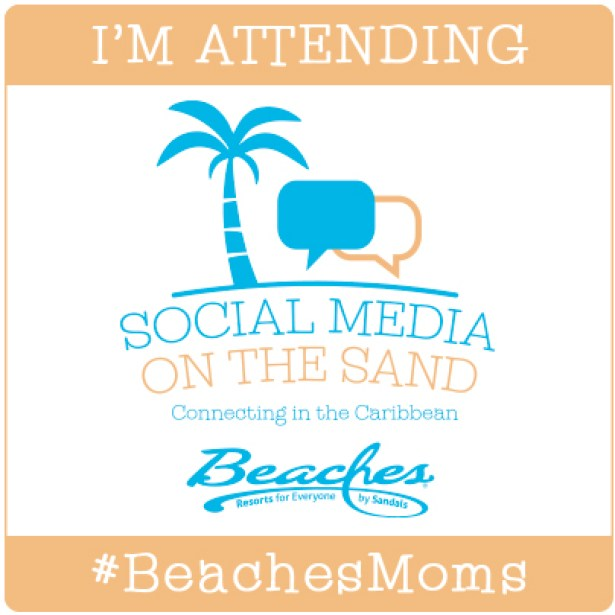 .@ParentingBeyond Social Media In The Sand @BeachesResorts in Turks & Caicos #BeachesMoms