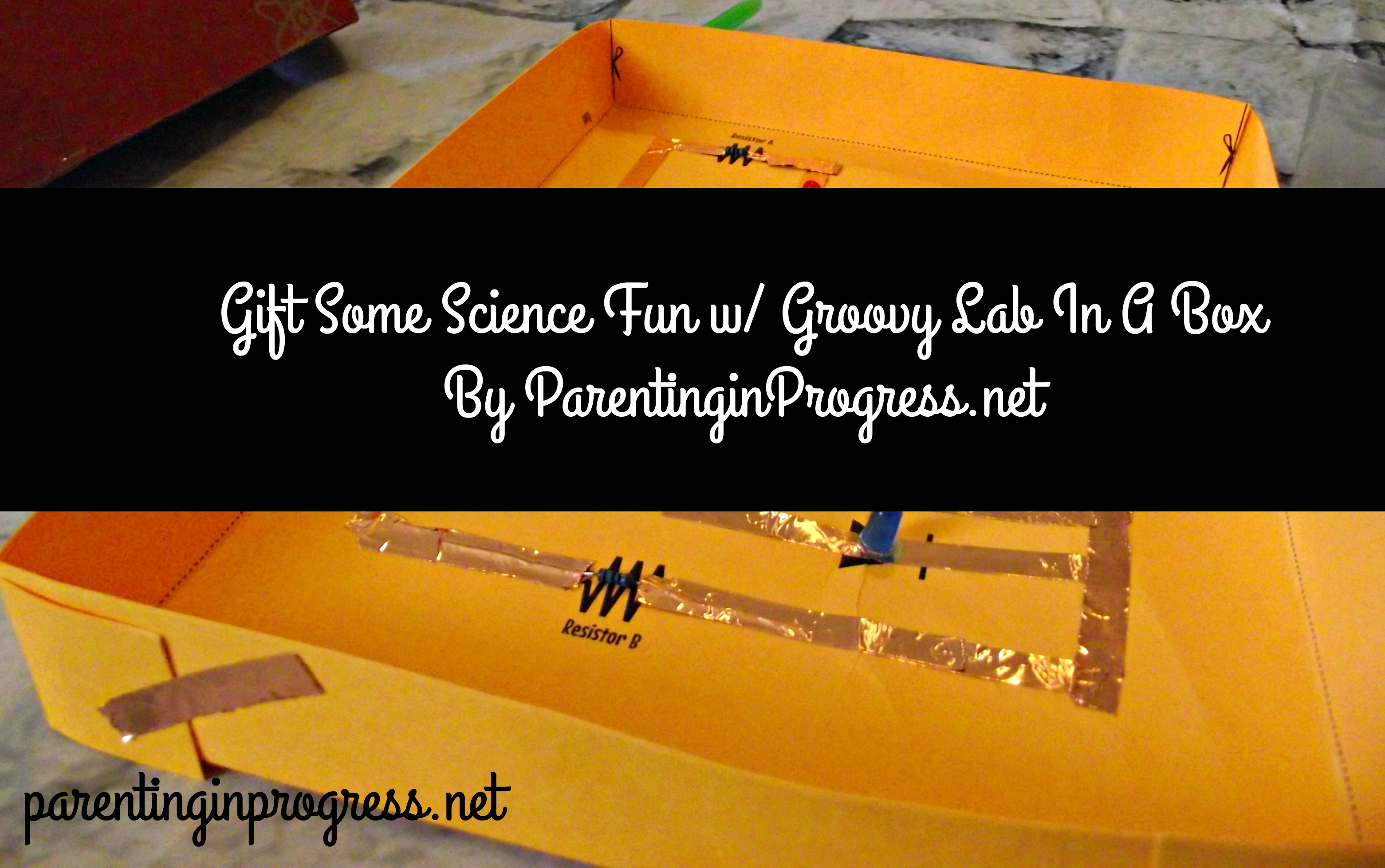 Gift Some Science Fun w/ Groovy Lab In a Box