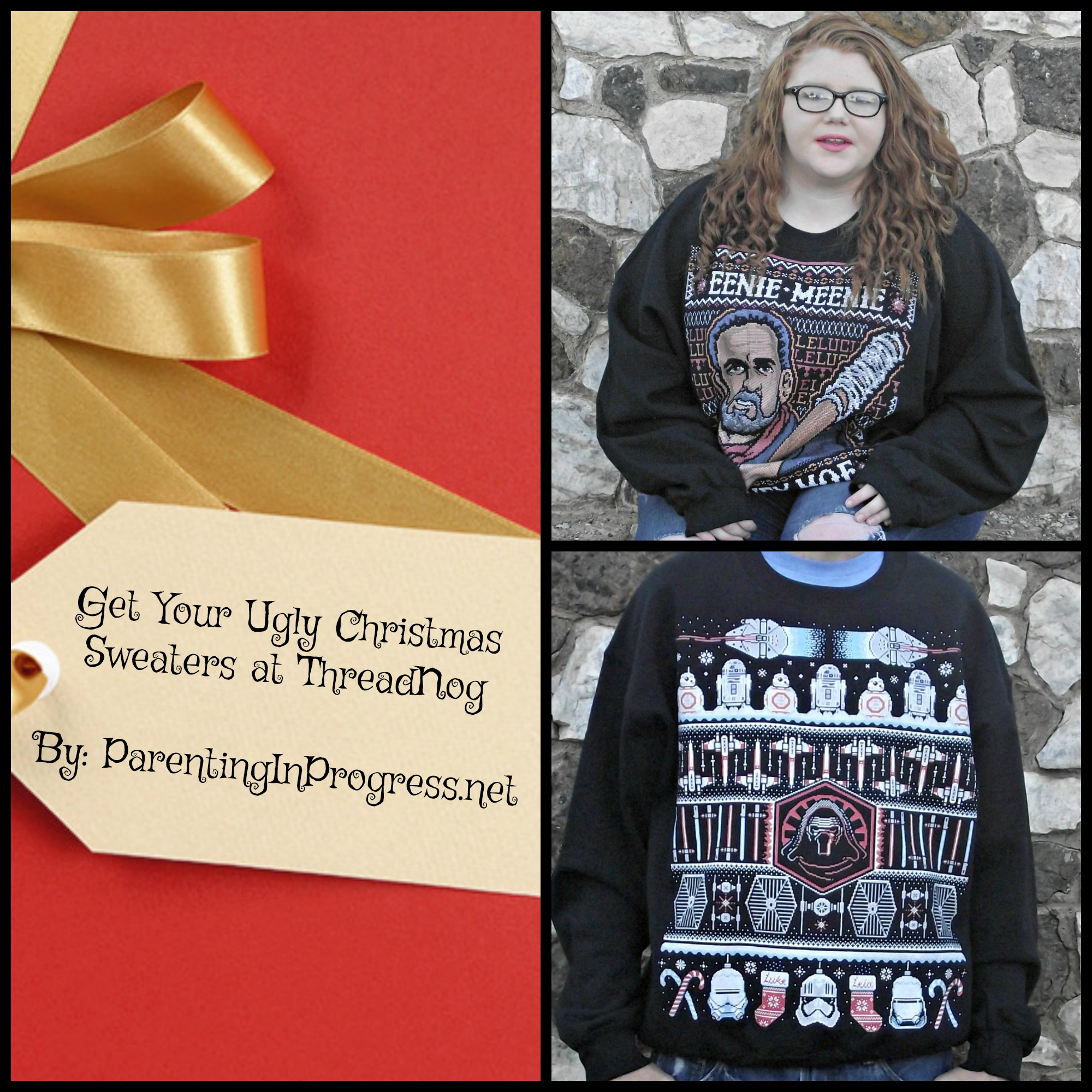 Get Your Ugly Christmas Sweaters at ThreadNog