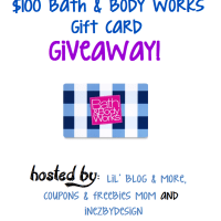 $100 Bath & Body Works Giveaway