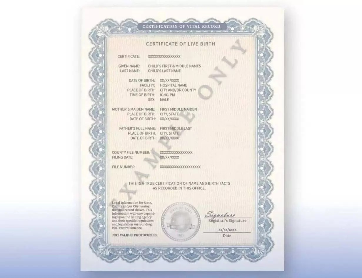 mother not putting father on birth certificate