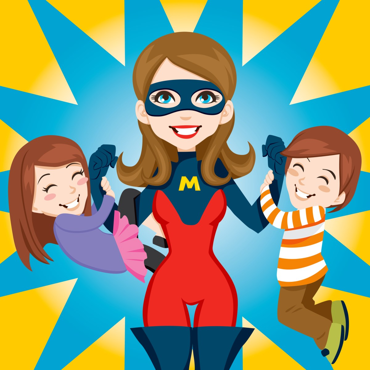 The Myth of the Superhero Mom