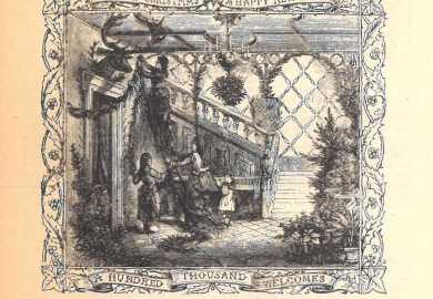 Victorian Christmas Outdoor Decorations