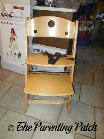 keekaroo high chair ikea floor height right review parenting patch assembling the 4