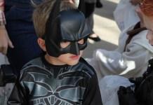 Kids on Halloween Suit on Halloween
