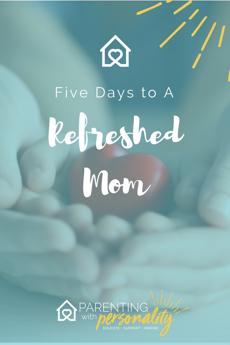5 days to a refreshed mom facebook challenge