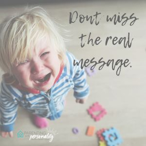 Don't miss the real message picture of child crying
