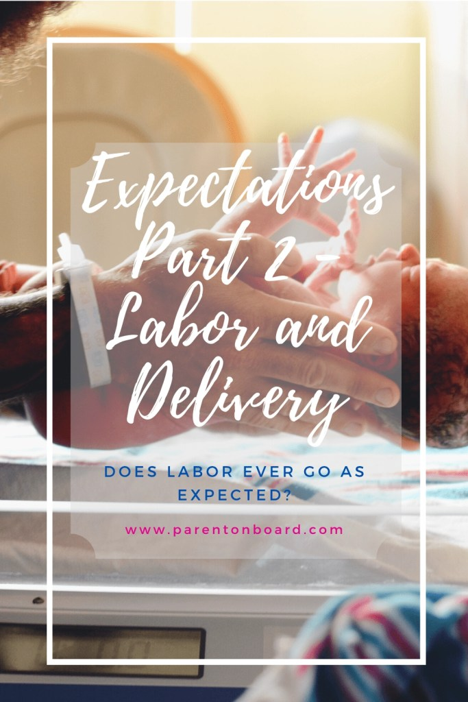 Expectations: Part 2 - Labor and Delivery