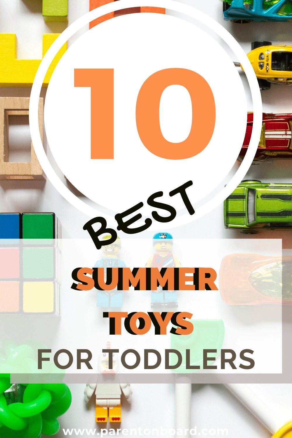 10 Best Summer Toys for Toddlers