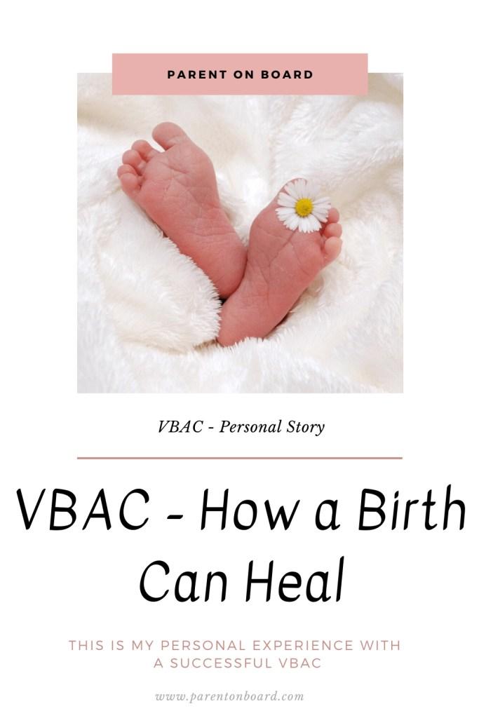 VBAC - How a Birth Can Heal