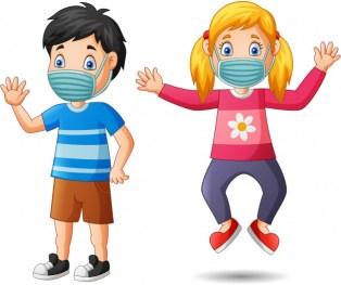 port du masque enfants