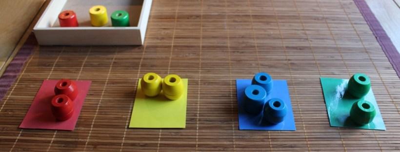 apprentissage couleurs Montessori
