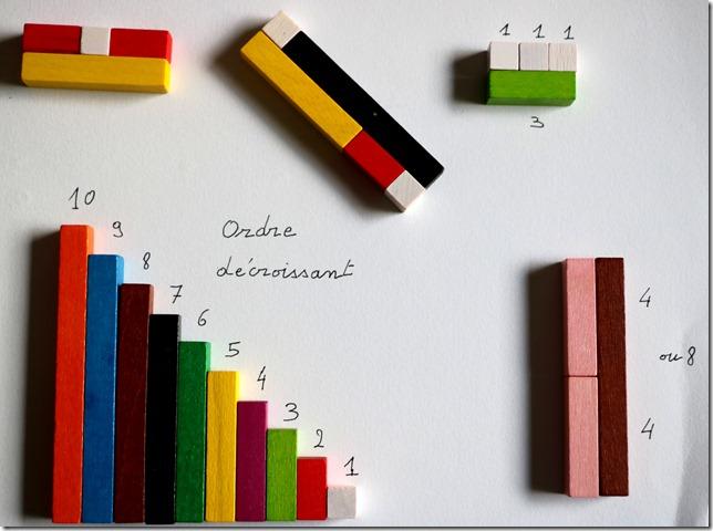 Réglettes Montessori
