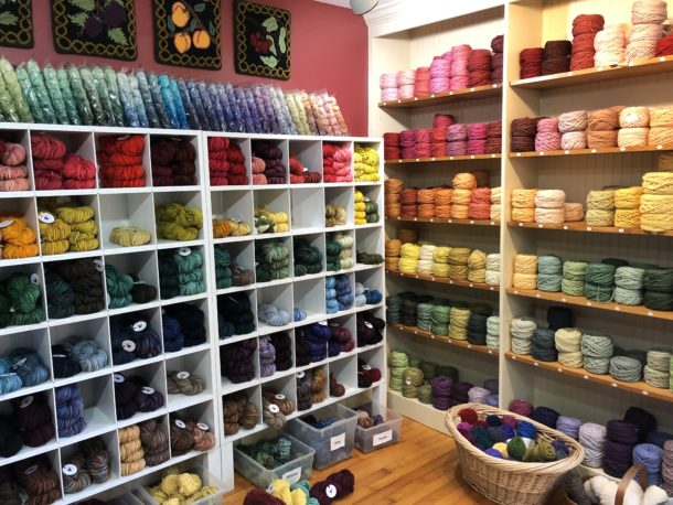 yarn for sale at Oxford