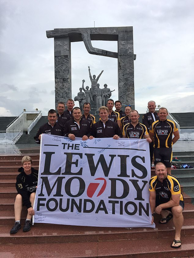 The Lewis Moody Foundation works in partnership with The Brain Tumour Charity
