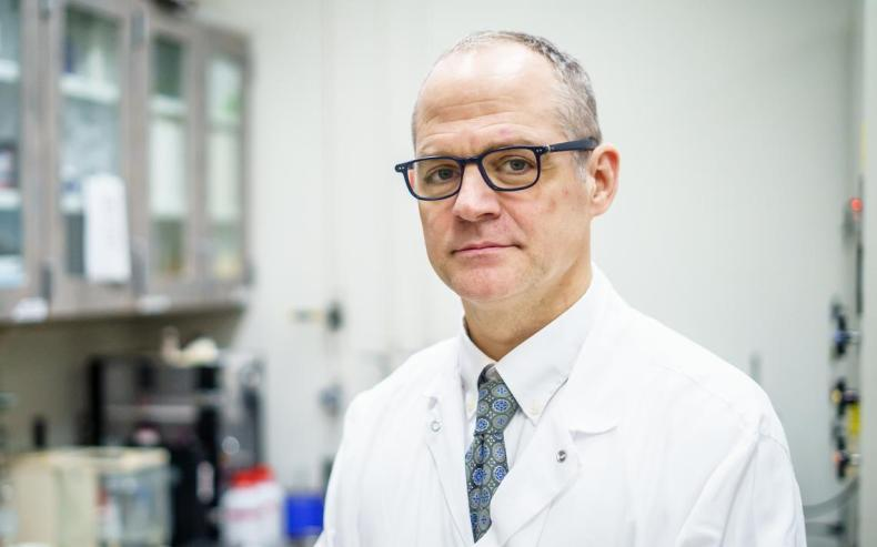 Dr. Jon Ebbert is the Inhaled Particle Aerosol Lab medical director at Mayo Clinic's Inhaled Particle Aerosol Lab. Joe Ahlquist / Forum News Service
