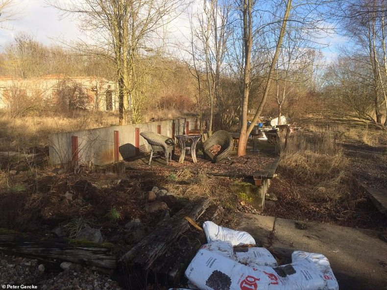 Police are set to return to this abandoned box factory inNeuwegersleben, Germany, where Christian Brueckner lived in a caravan and hid child porn among animal bones. Police raided it in 2016 looking for missing Inga Gehricke