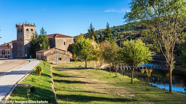 Locals in Salduero (pictured, file image) - which is within the region of Castile and Leon - slammed the decision to go-ahead with the summer camp