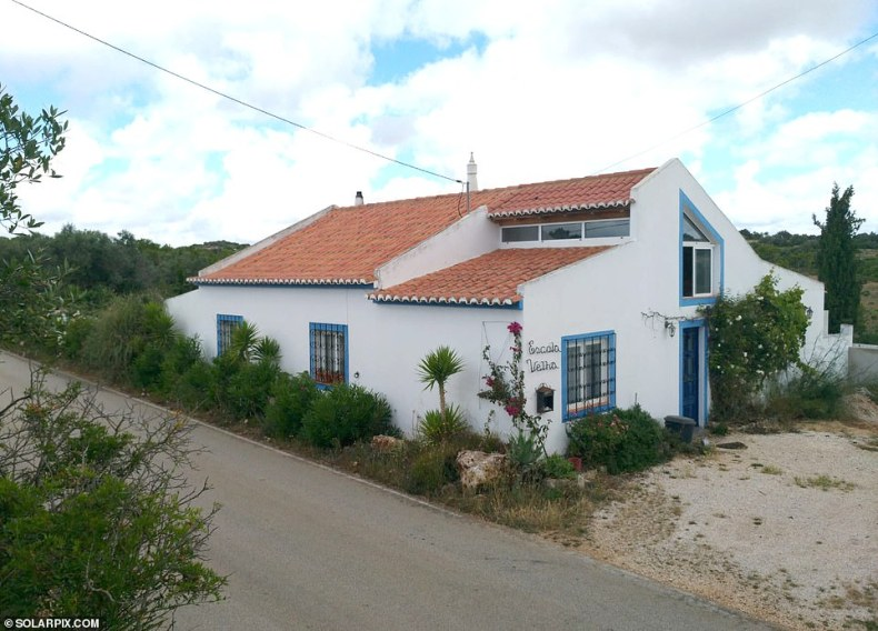 Brueckner had lived in this remote villa overlooking Praia da Luz from 1999 to 2006. Neighbours described him as unfriendly