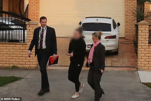 The teacher was arrested and charged at her home earlier a month ago and has been 'languishing' in custody ever since, a court has heard