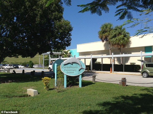 The incident took place at Gerald Adams Elementary in Key West in Florida