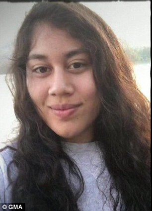 Alexus Anderson, 16, ran away with her wrestling coach, Philip Maglaya, 25 on August 22 from Stockton, California