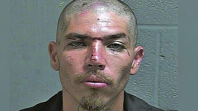 Murder suspect and Surenos gang member Pablo Robledo was also arrested as part of Operation Triple Beam