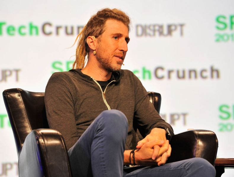 Signal's founder Moxie Marlinspike during a TechCrunch event on September 18, 2017 in San Francisco, California.