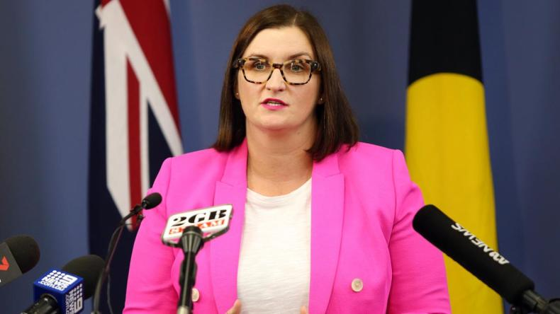 Education Minister Sarah Mitchell does not support a standard bullying policy. Picture: Richard Dobson