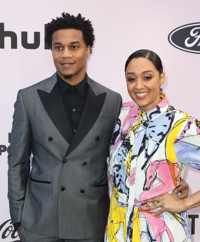 Cory Hardrict and Tia Mowry-Hardrict attend the 13th Annual Essence Black Women In Hollywood Awards Luncheon on February 06, 2020.   Source: Getty Images