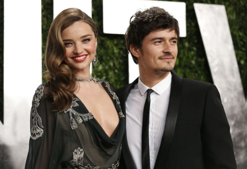 Miranda Kerr and Orlando Bloom, depicted together in 2013, before their divorce. (Photo: REUTERS/Danny Moloshok)