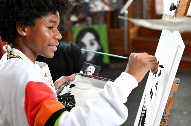 Tyler Gordon first made his mark with celebrity portraits