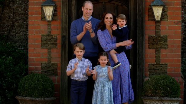 Kate Middleton pictured with family in Ghost London dress