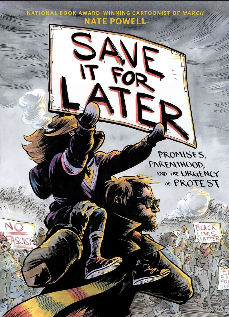 """Originally from North Little Rock, artist and essayist Nate Powell has won awards for his graphic novels. His most recent, """"Save It for Later: Promises, Parenthood and the Urgency of Protest,"""" was released April 6. (Courtesy photo)"""