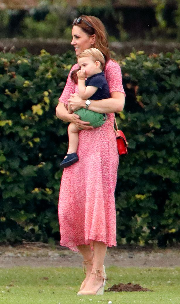 Kate revealed that Louis is a mummy's boy