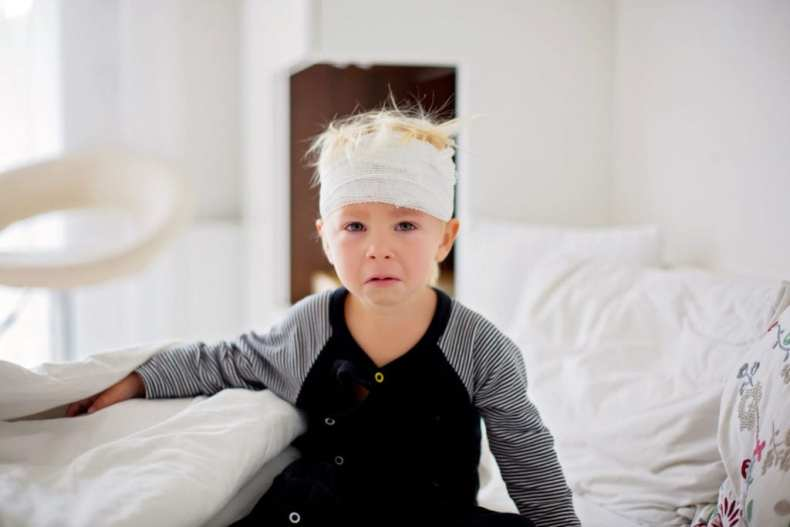 Child with tbi