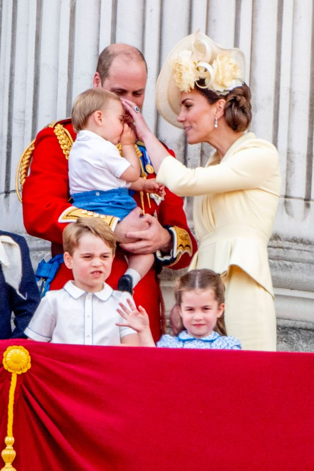 The Cambridges are thought to sit their children down for a sofa chat rather than use a naughty step