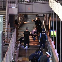 Man thrown into Osaka's Dotonbori River during fight dies; suspect on the loose | #students | #parents
