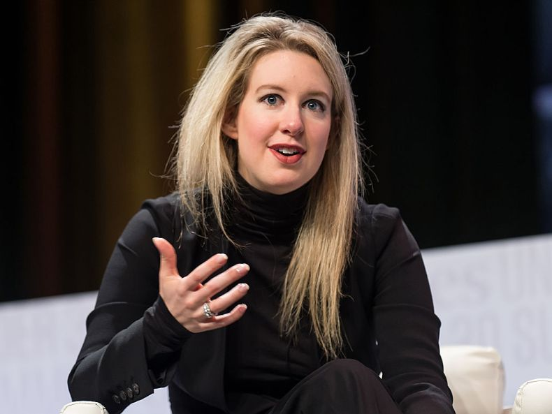 Founder & CEO of Theranos Elizabeth Holmes attends the Forbes Under 30 Summit at Pennsylvania Convention Center on Oct. 5, 2015 in Philadelphia, Pennsylvania.