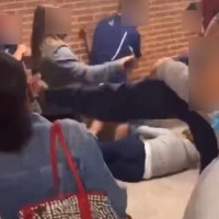 Video of bloody melee at Susan Wagner sparks stabbing rumors; sources say knife removed from student | #students | #parents