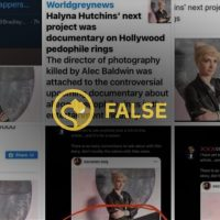 #minorsextrafficking | Was Halyna Hutchins' Next Project a Sex Trafficking Documentary?