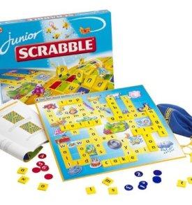 Scrabble and Scrabble Junior