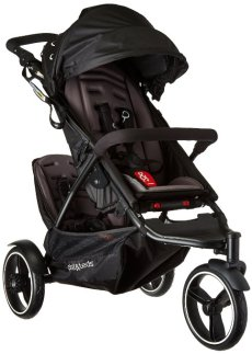 Phil&Teds Dot Inline Stroller with Second Seat