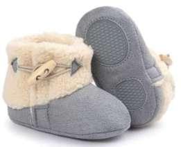 Elevin(TM) Baby Soft Sole Crib Shoes Anti-slip Prewalker Snow Booties