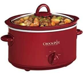 Crock-Pot Oval Manual Slow Cooker SCV401TR