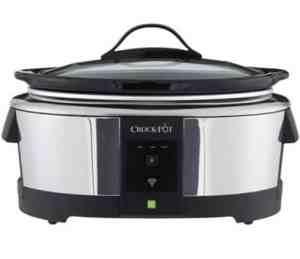 Crock-Pot SCCPWM600-V2 Wemo Smart Wifi-Enabled Slow Cooker