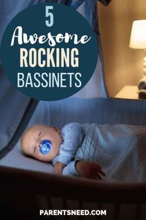 Top 5 Best Rocking Bassinets for your baby feature photo