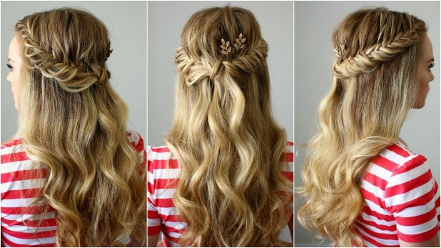 Fishtail Braid half