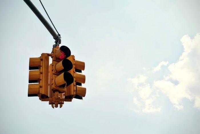 A stoplight